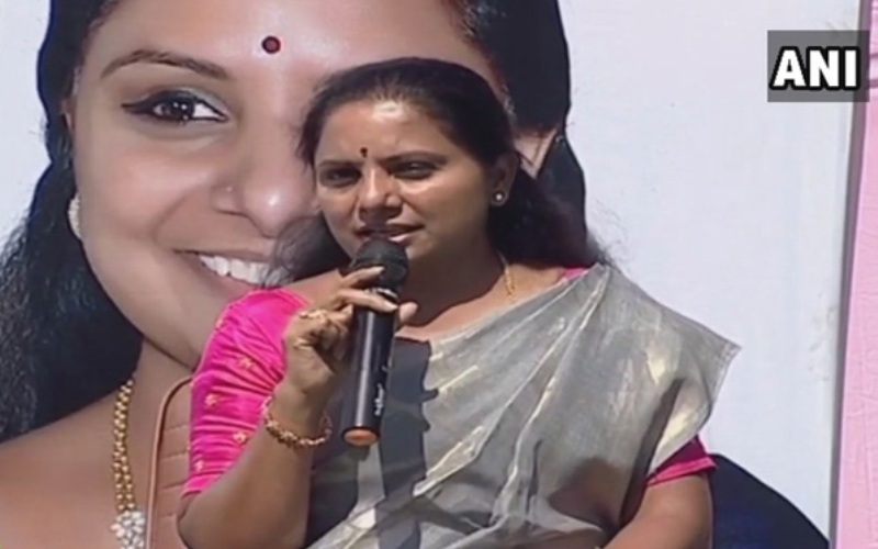 Country will develop only through regional parties: TRS MP Kavitha