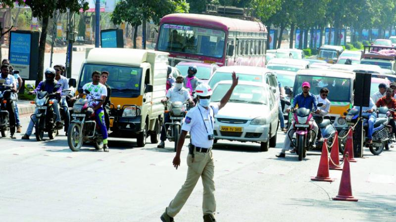 Venkaiah visit: Traffic curbs in city today