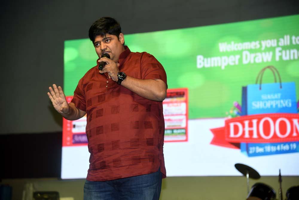 Akbar Bin Tabar Stand-up Comedy at Siasat Dhoom