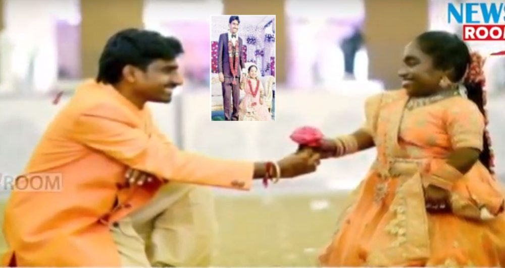 Hyderabad: 5 ft 4 inches youth marries 3 ft 2 inches girl