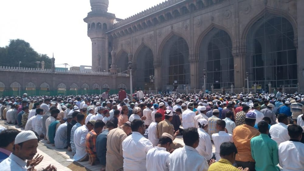 Makkah Masjid bomb blast completes 12 year, tight security today