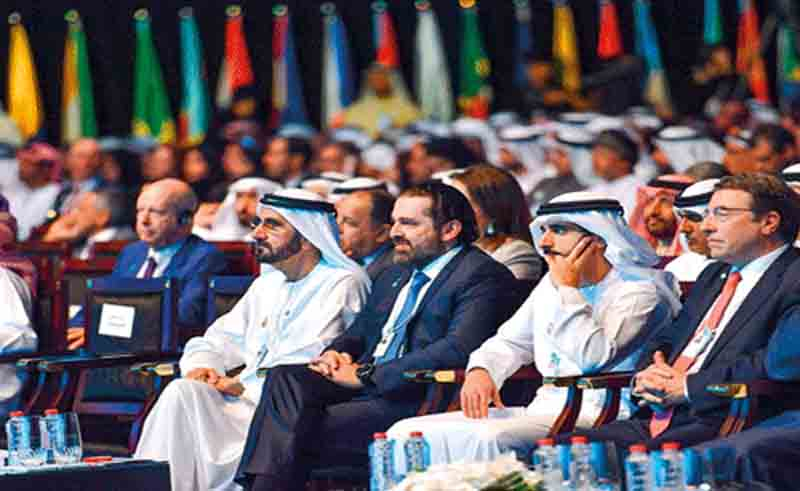 World leaders discuss future of global economy at Dubai summit