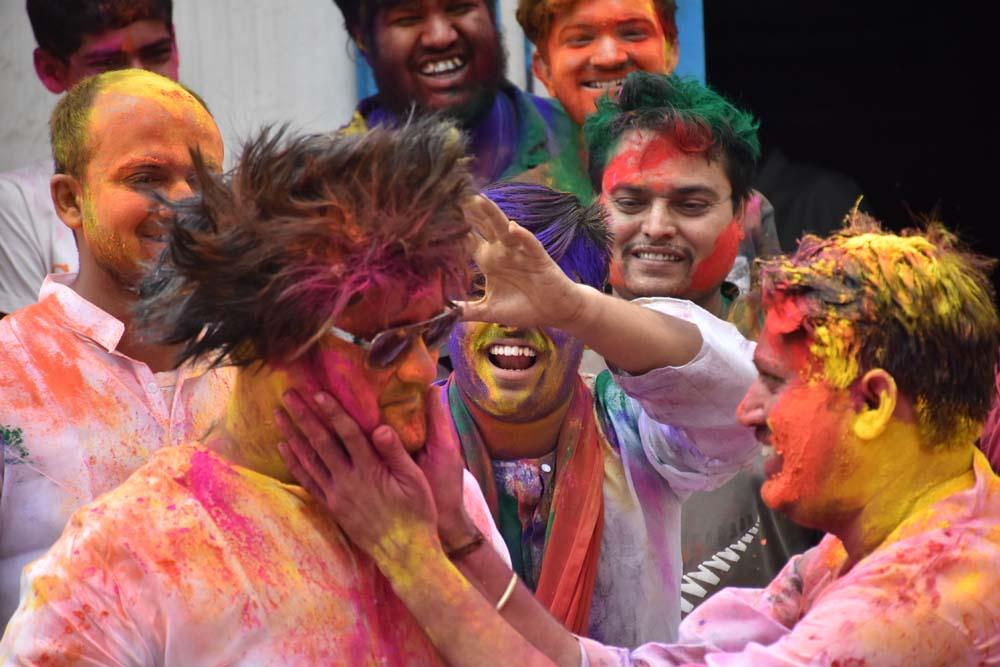 Festival of Colour – Holi Celebration in Hyderabad
