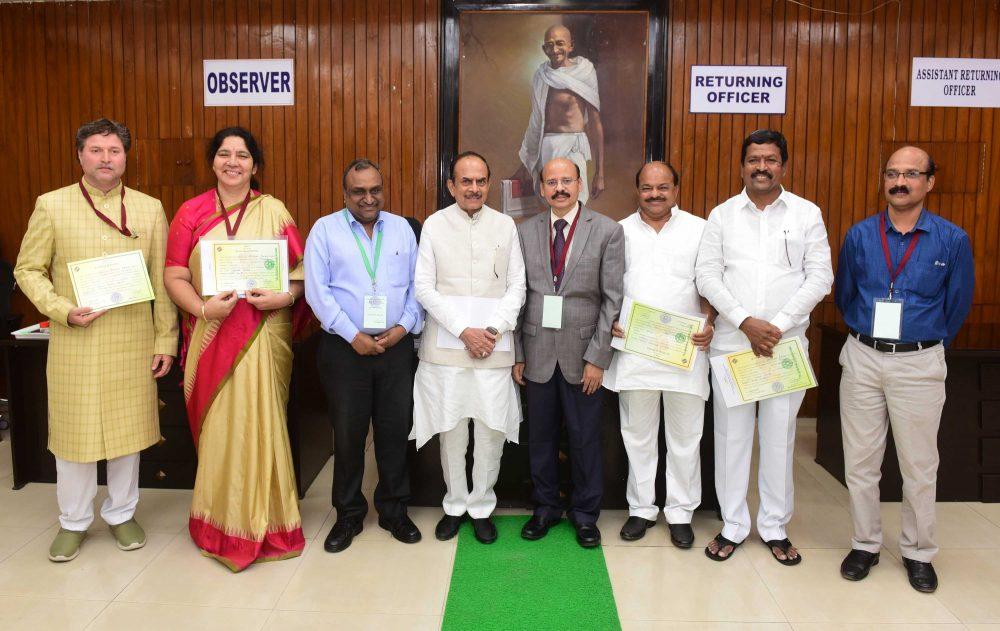 Seven MLCs take oath in Council
