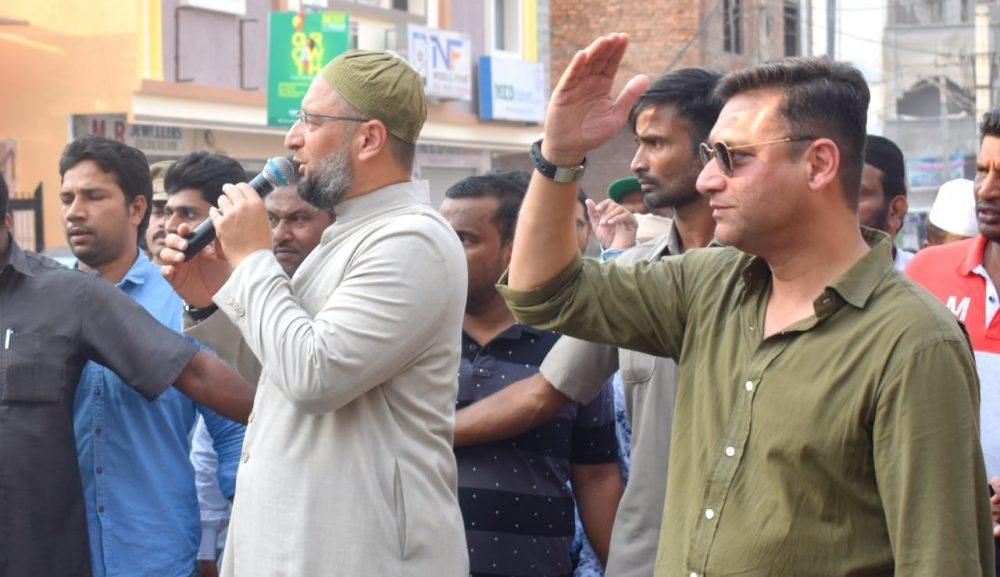 Owaisi Brothers look more like businessmen, not politicians: Congress
