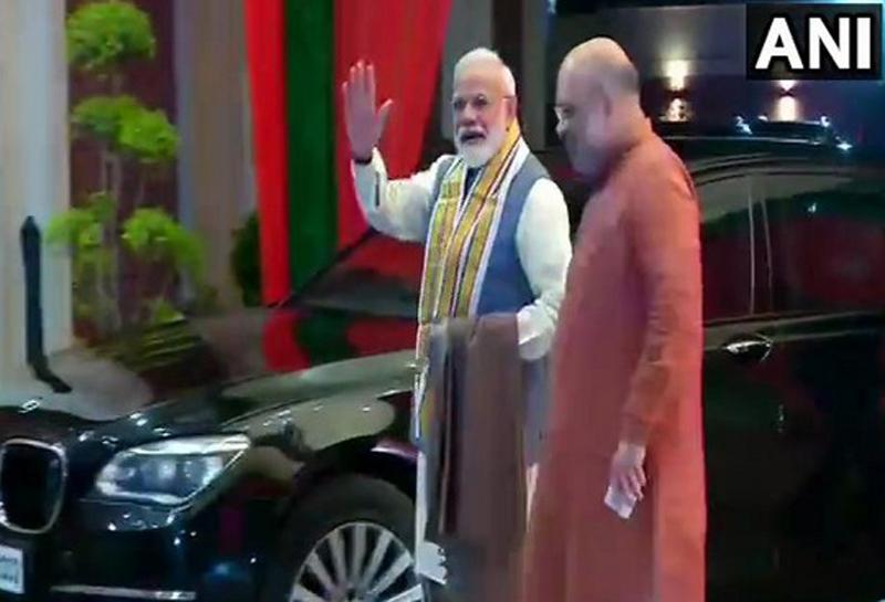 Delhi: BJP holds CEC meeting in presence of PM Modi, Amit Shah