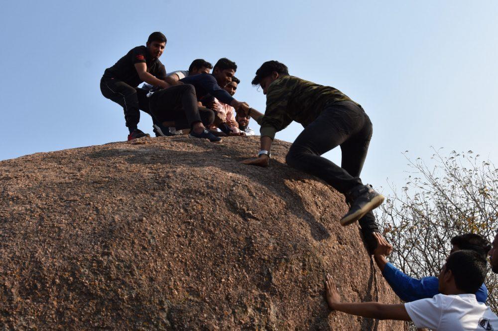 'Rock Walk' at MANUU