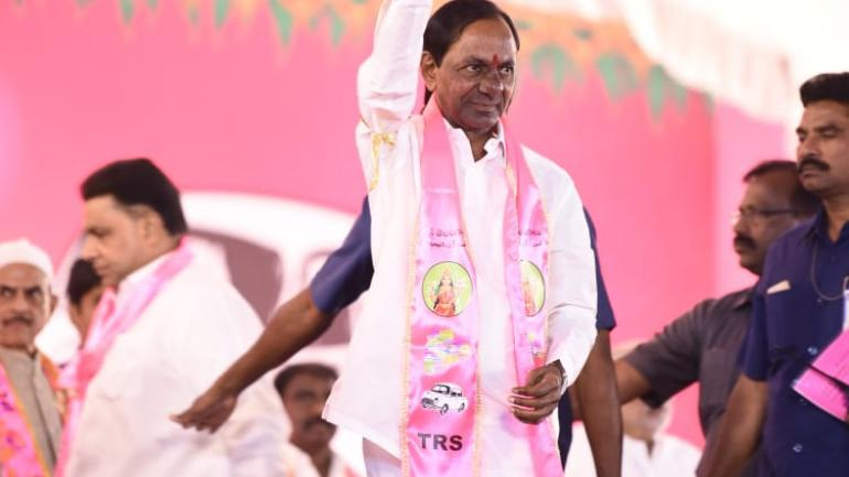 TRS declares candidates for LS polls