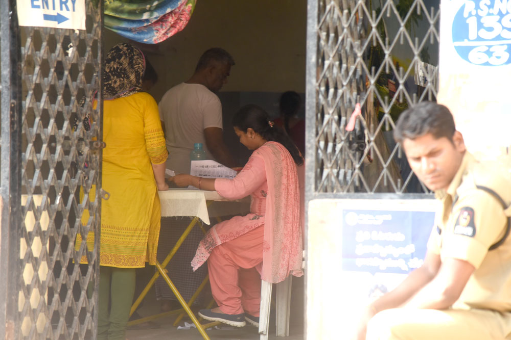 Hyderabad: Polling underway for LS seat