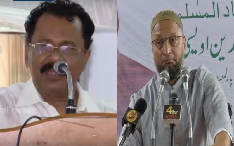 Asaduddin Owaisi reacts to Kerala BJP President's remark 'Muslims can be identified by removing their clothes'