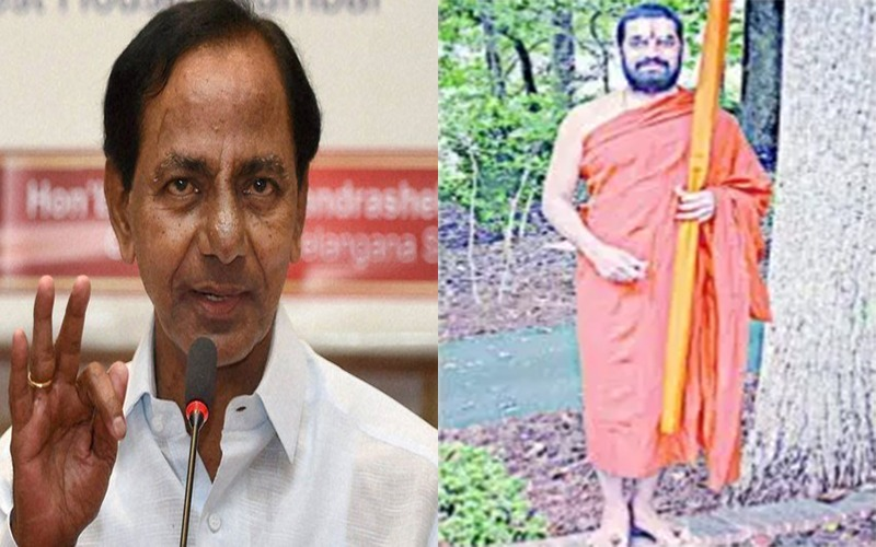 Is Chinna Jeeyar Swamy functioning as 'Super CM' of TS?