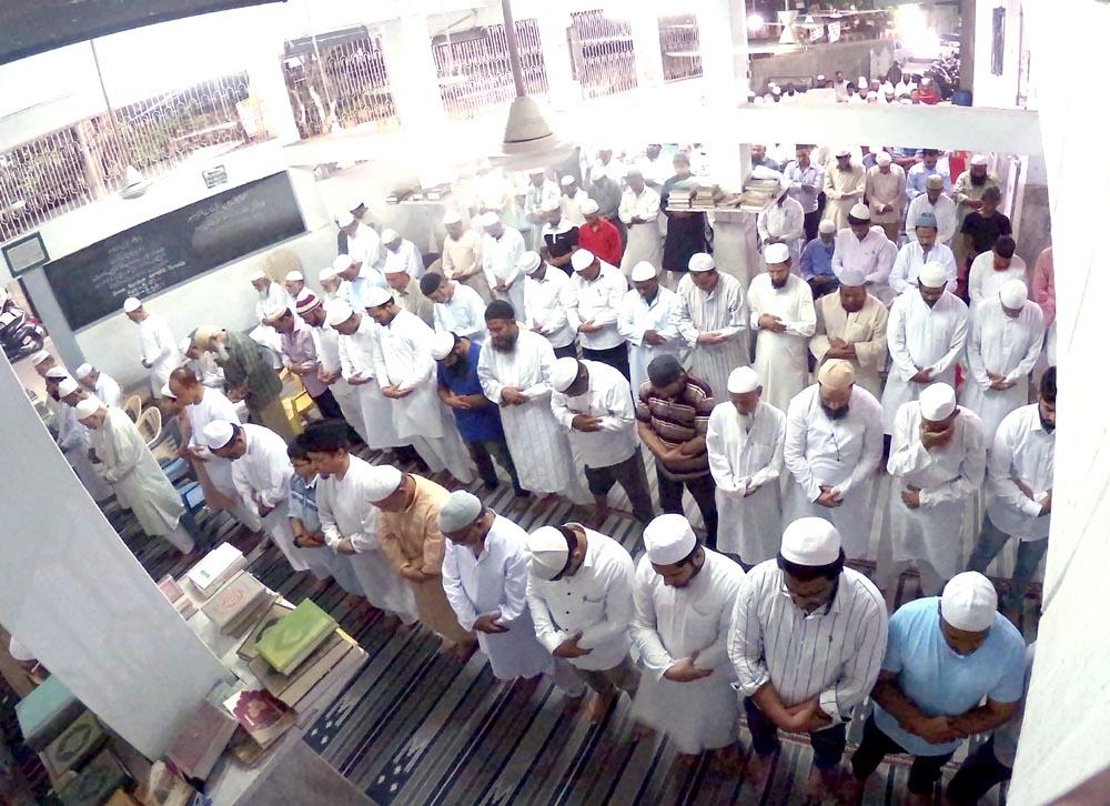NAMAZ-e-TARAVEEH  at Masjid-e-Jahara