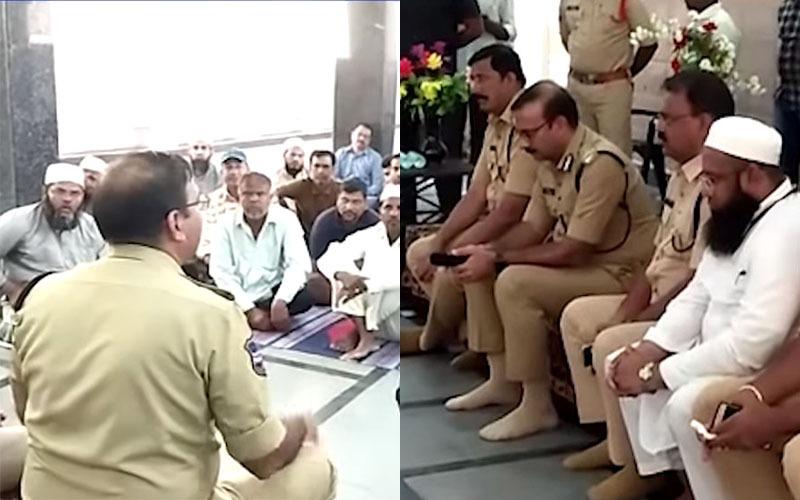 Masjid-e-Ek Khana: Police conducts meeting with Muslims
