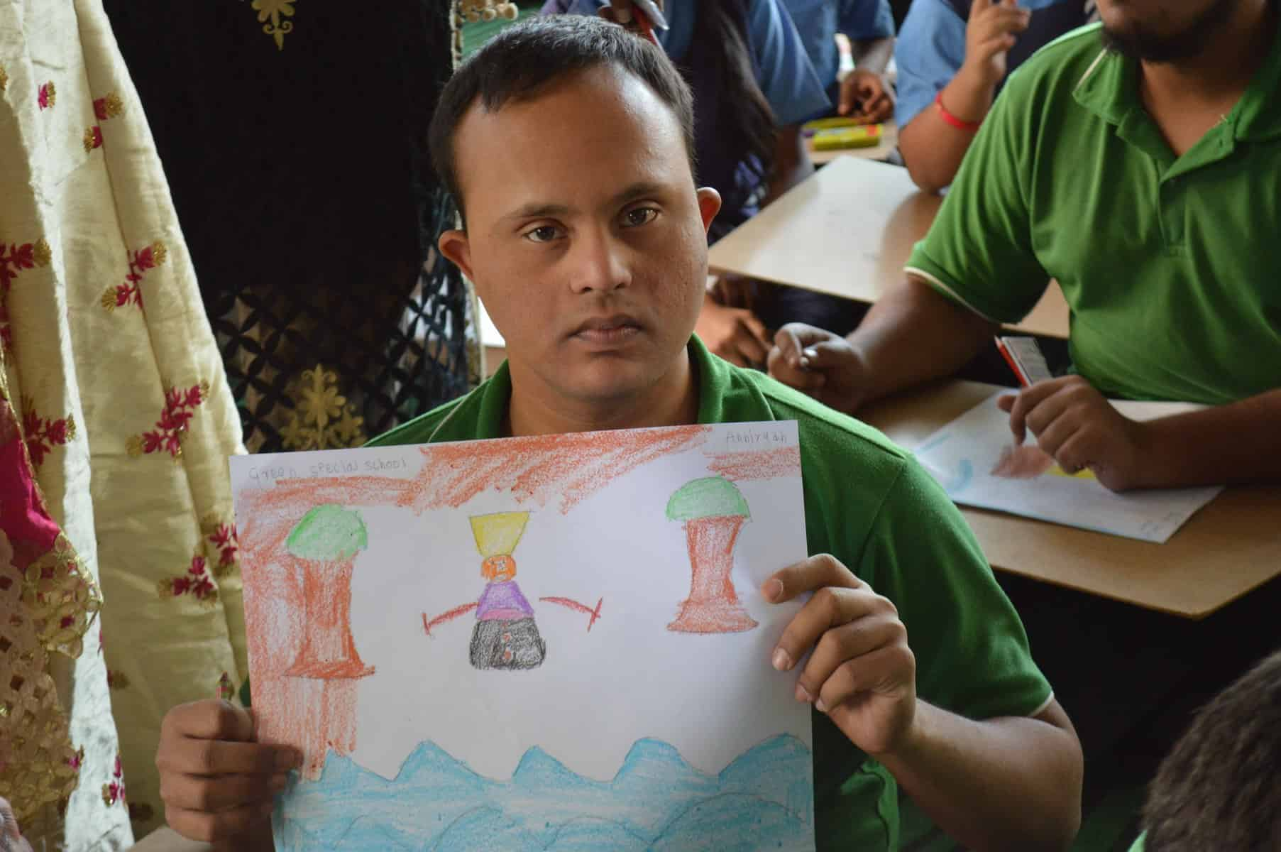 'Taare Zameen Par' painting competition for differently- abled