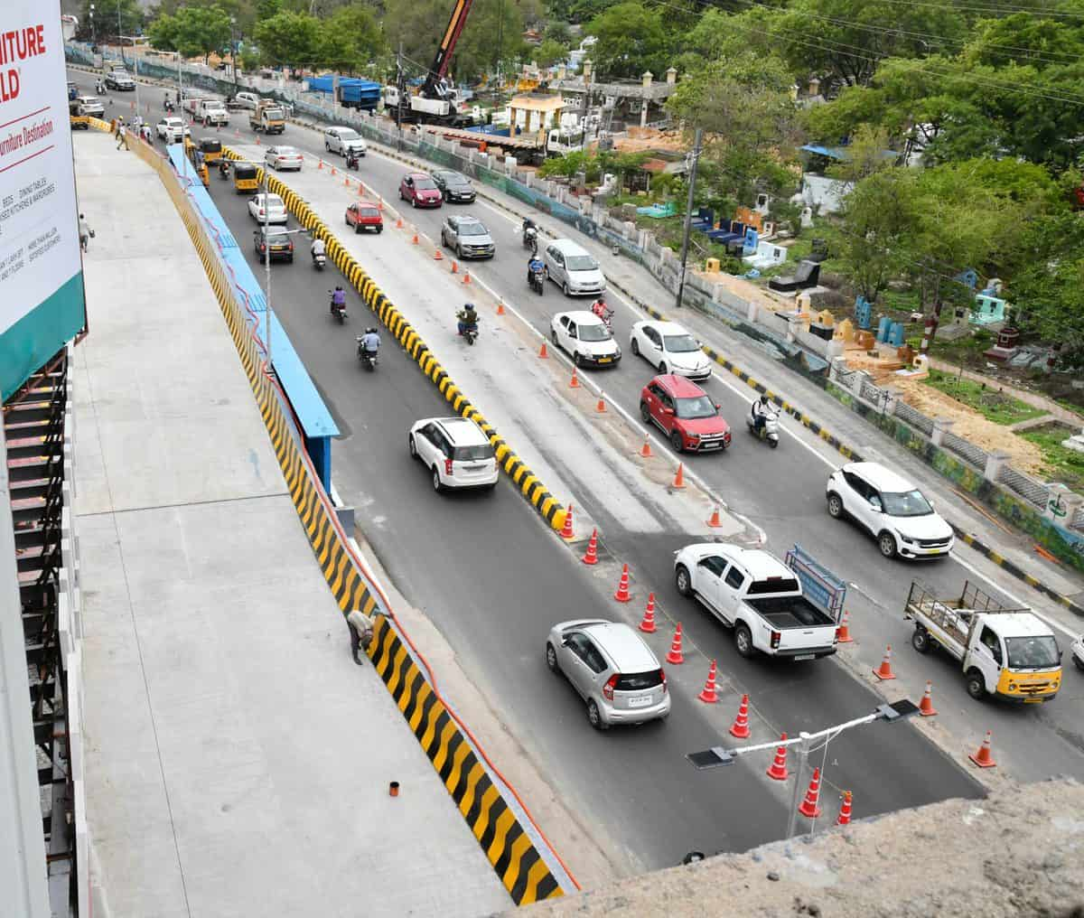 Hyderabad: Panjagutta steel bridge ready, one more to come up